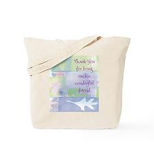 Friend101.jpg Tote Bag