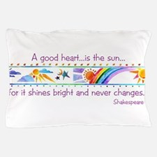 A good heart.jpg Pillow Case