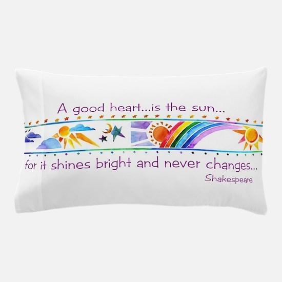 A good heart.jpg Pillow Case
