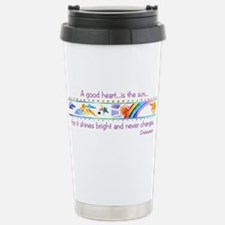 A good heart.jpg Travel Mug