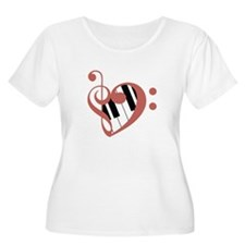 Love of Music Plus Size T-Shirt