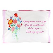 Thanks1a.jpg Pillow Case