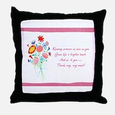 Thanks1a.jpg Throw Pillow