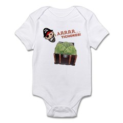 ARRRRtichoke Infant Bodysuit