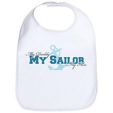 My daddy, my sailor, my hero Bib