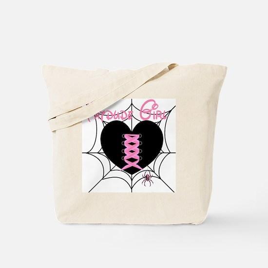 Corset Heart...Tatdude Girl Tote Bag