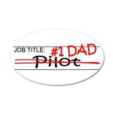 Job Dad Pilot Wall Decal
