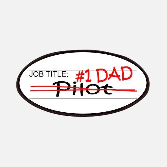 Job Dad Pilot Patches