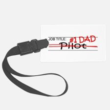 Job Dad Pilot Luggage Tag
