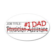 Job Dad Physician Asst Wall Decal