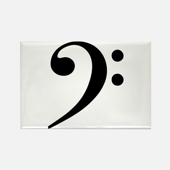Bass Clef Magnets