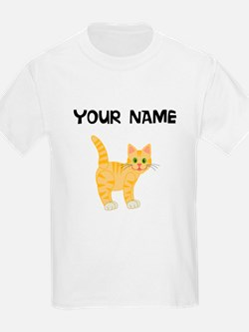 Custom Orange Kitten T-Shirt