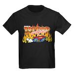 Tot Rod Racing Kids Dark T-Shirt