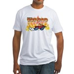 Tot Rod Racing Fitted T-Shirt