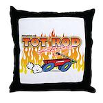 Tot Rod Racing Throw Pillow