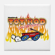Tot Rod Racing Tile Coaster