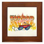 Tot Rod Racing Framed Tile
