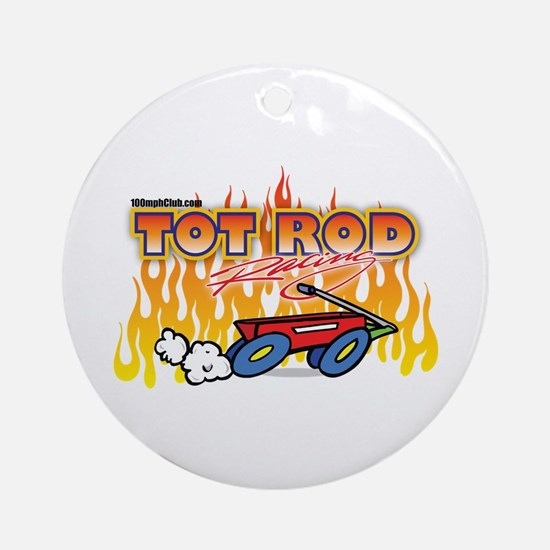 Tot Rod Racing Ornament (Round)