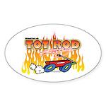 Tot Rod Racing Oval Sticker