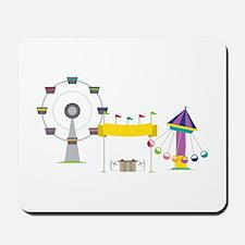 Amusement Park Mousepad