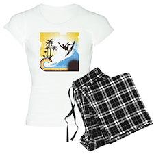 Retro Surfer Pajamas