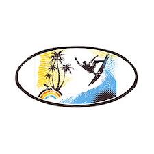 Retro Surfer Patches
