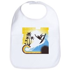 Retro Surfer Bib