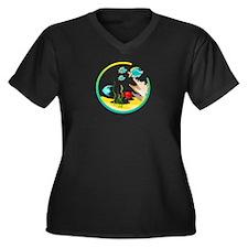 TROPICAL FISH Plus Size T-Shirt