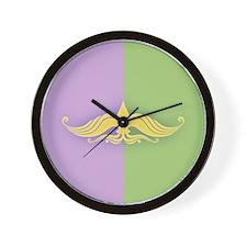 Fleur de Listache Wall Clock