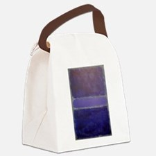 Shades of Purples rothko copy_ Canvas Lunch Bag