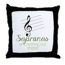 Sopranos Throw Pillow