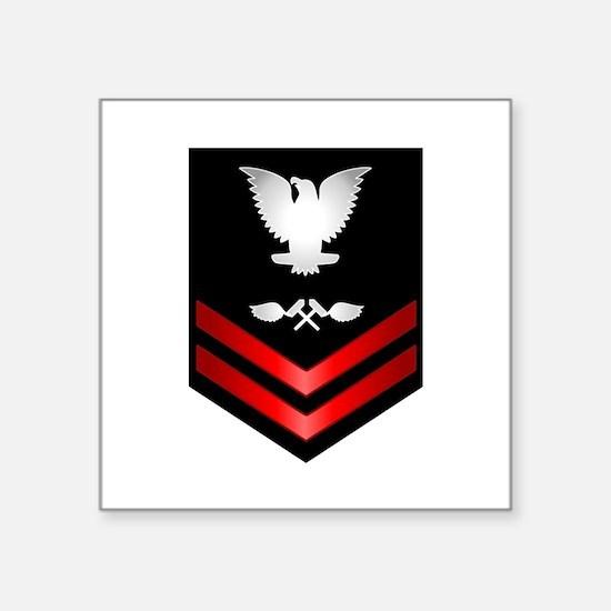 navy_e5_avistructuremech Sticker