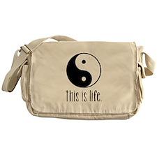 This is Life Messenger Bag