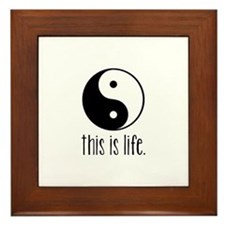This is Life Framed Tile