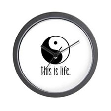 This is Life Wall Clock