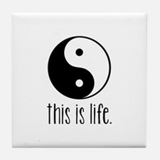 This is Life Tile Coaster
