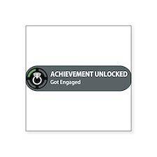 Achievement Unlocked - Got Engaged Sticker