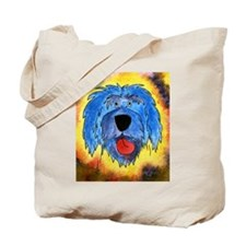 Poliah Lowland Sheepdog Tote Bag