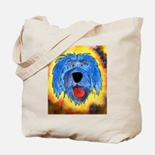 Poliah Lowland Sheepdog Tote Bag