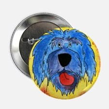 Poliah Lowland Sheepdog Button
