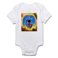 Poliah Lowland Sheepdog Infant Bodysuit