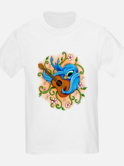Song Bird Guitar T-Shirt