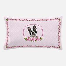 Boston pink roses Pillow Case