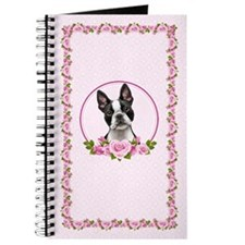 Boston Pink Roses Journal