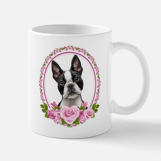 Boston pink roses Mug