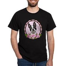 Boston pink roses T-Shirt
