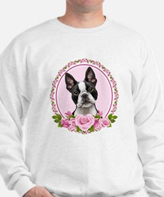Boston pink roses Jumper