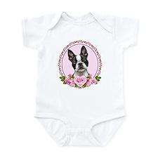 Boston pink roses Infant Bodysuit