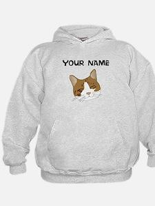 Custom Brown Kitten Hoodie