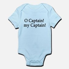 O Captain! my Captain! Infant Bodysuit